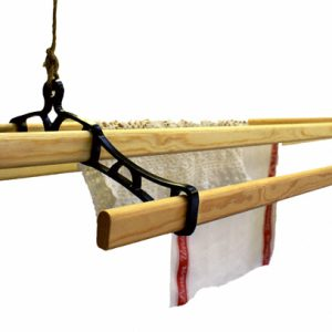 Kitchen maid ceiling mounted clothes airer