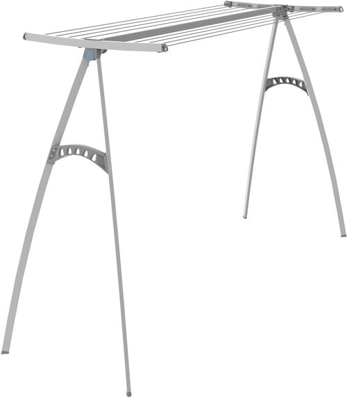 Hills Portable 120 Clothes Airer Dryer Granite Pearl